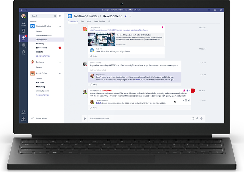 Microsoft Teams Laptop